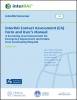 interRAI Contact Assessment (CA) Form and User's Manual, 9.2